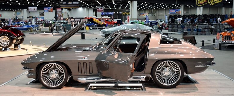 1966 Corvette Split Ray Wired with Infinitybox System built by The Auto Shoppe