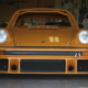 Front shot of a 1978 Porsche 930 track car wired with the Infinitybox system
