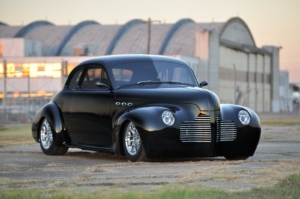 Picture of a 1940 Super Buick wired with the Infinitybox system