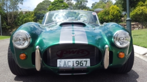 Australia Built Cobra Replica wired with the Infinitybox system