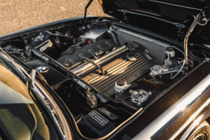 Custom-BMW-E9-Engine wired with the Infinitybox system