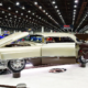 1955 Cadillac DeVille at the 2020 Detroit Autorama