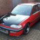 1991 Honda Civic Drag Car wired with the Infinitybox Express Drag Car Kit