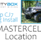 Jeep Install Series-MASTERCELL Location