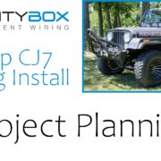 Jeep Install Series-Project Planning