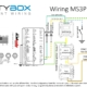 Picture of wiring diagram for MS3Pro EFI system and the Infinitybox system.