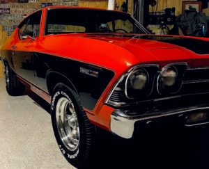 1969 Chevelle wired with the Infinitybox system