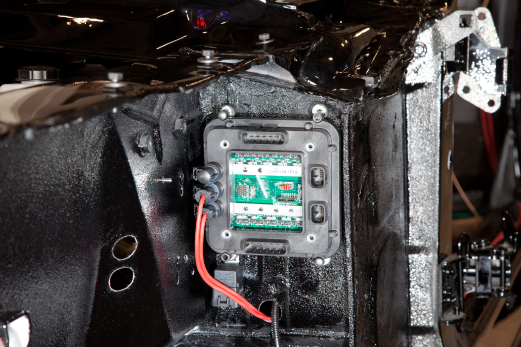 Front POWERCELL Mounted in 1967 Mustang