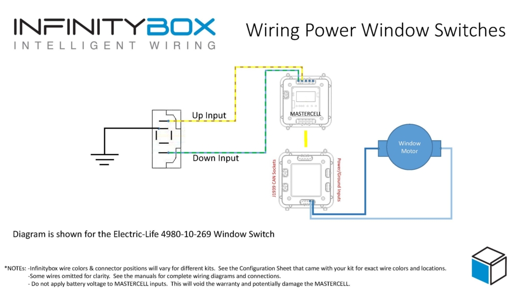 Wiring Power Window Switches Infinitybox, Wiring Diagram For Power Window Switches