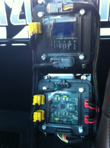 MASTERCELL and inMOTION Cell in a Chevy S10 Show Truck wired with the Infinitybox system.