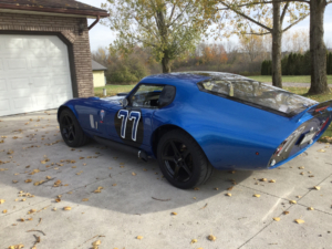 Factory Five Type 65 Daytona wired with the Infinitybox System.
