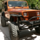 Jeep YJ After Restoration and Rewiring with Infinitybox