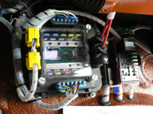 Front POWERCELL in Jeep YJ Rewire with Infinitybox System
