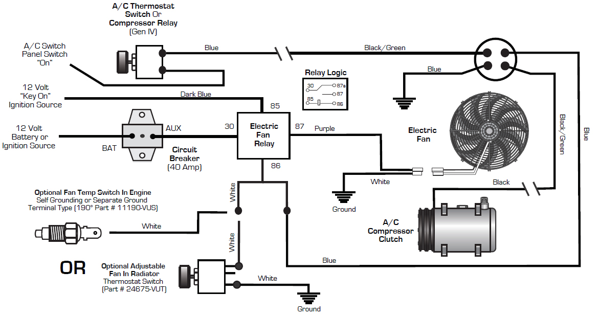 Trinary Switch Infinitybox, Automotive Air Conditioner Wiring Diagram