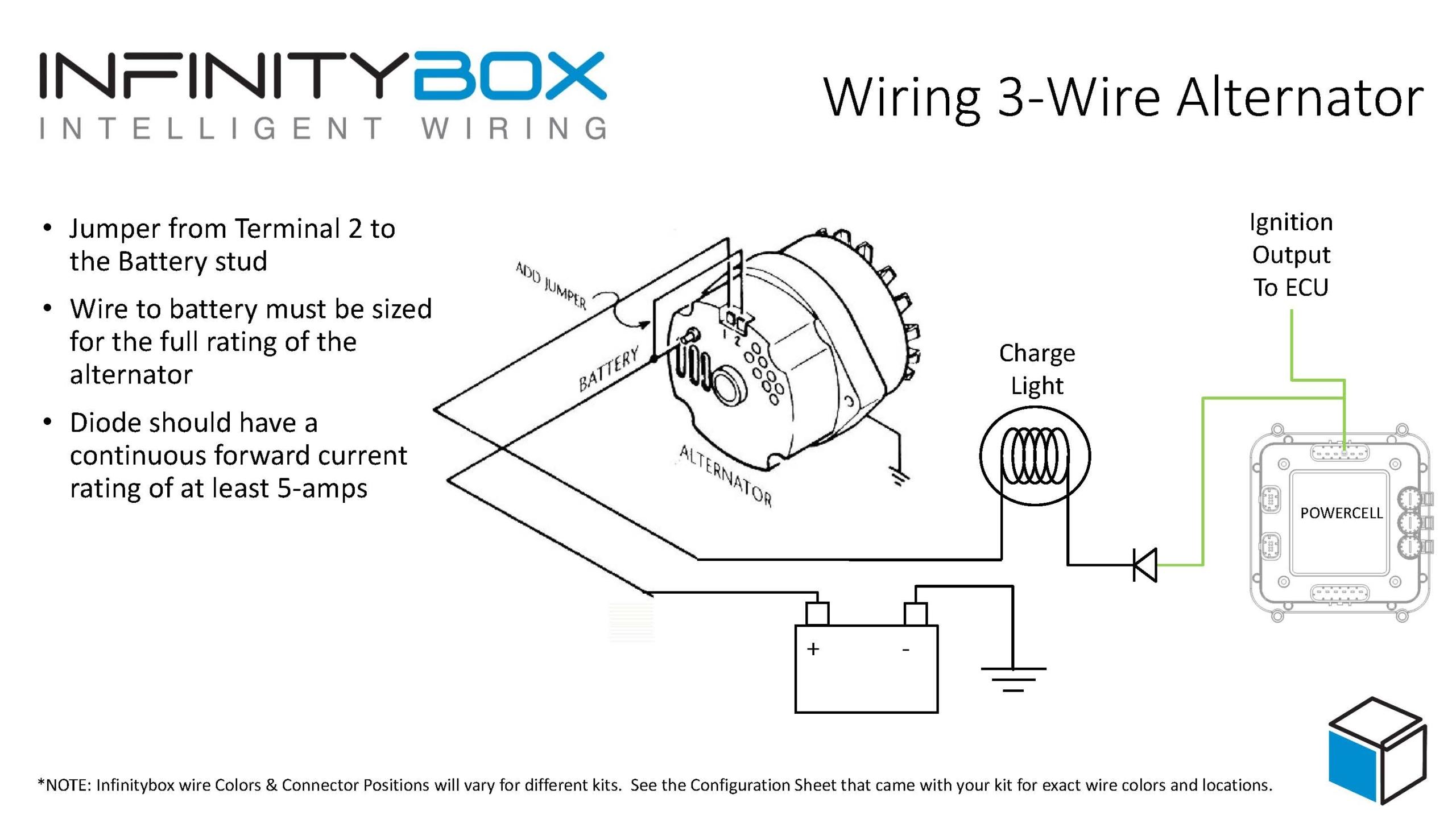 3-wire alternator - infinitybox  infinitybox
