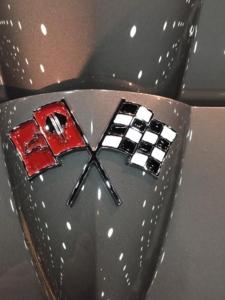 1966 Corvette Split Ray Rear Logo