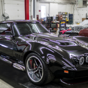 Dynamic Corvettes 1969 Corvette Wired with Infinitybox- 3/4 Shot