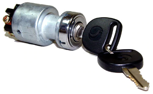 Picture of keyed ignition & starter switch