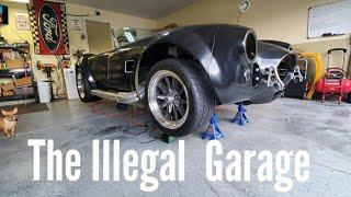 Logo for the Illegal Garage