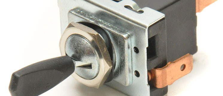 Picture of a Lucas Headlight Switch
