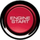 Picture of the Honda S2000 Engine Start Button.