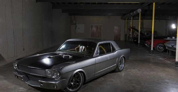 1966 Mustang wired with the Infinitybox System
